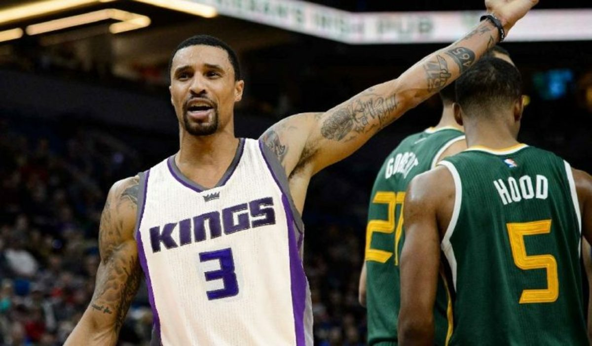 Top 4 NBA Players That Are Quietly Having A Bad Season George Hill Sacramento