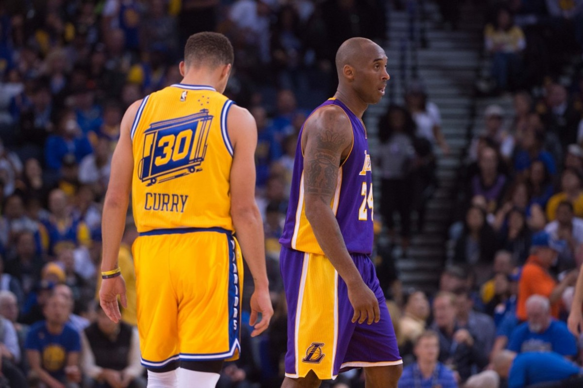 """Steph Curry Says Kobe Bryant Explained His Killer Instinct Perfectly: """"He Saw That Killer Instinct Behind The Smile. I Can Have Fun... But I'm Out There To Rip Your Heart Out."""""""