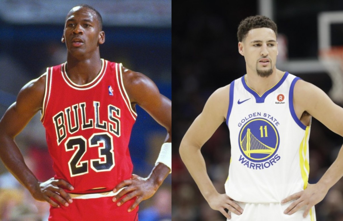 Michael Jordan vs. Klay Thompson