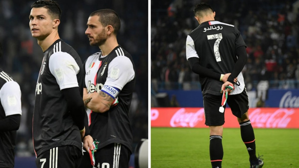 "Video: Cristiano Ronaldo's Priceless Reaction When Lazio Fans Chanted ""Messi, Messi"" Towards Him"
