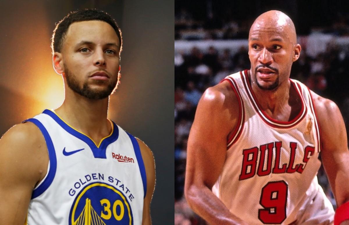 Stephen Curry vs. Ron Harper