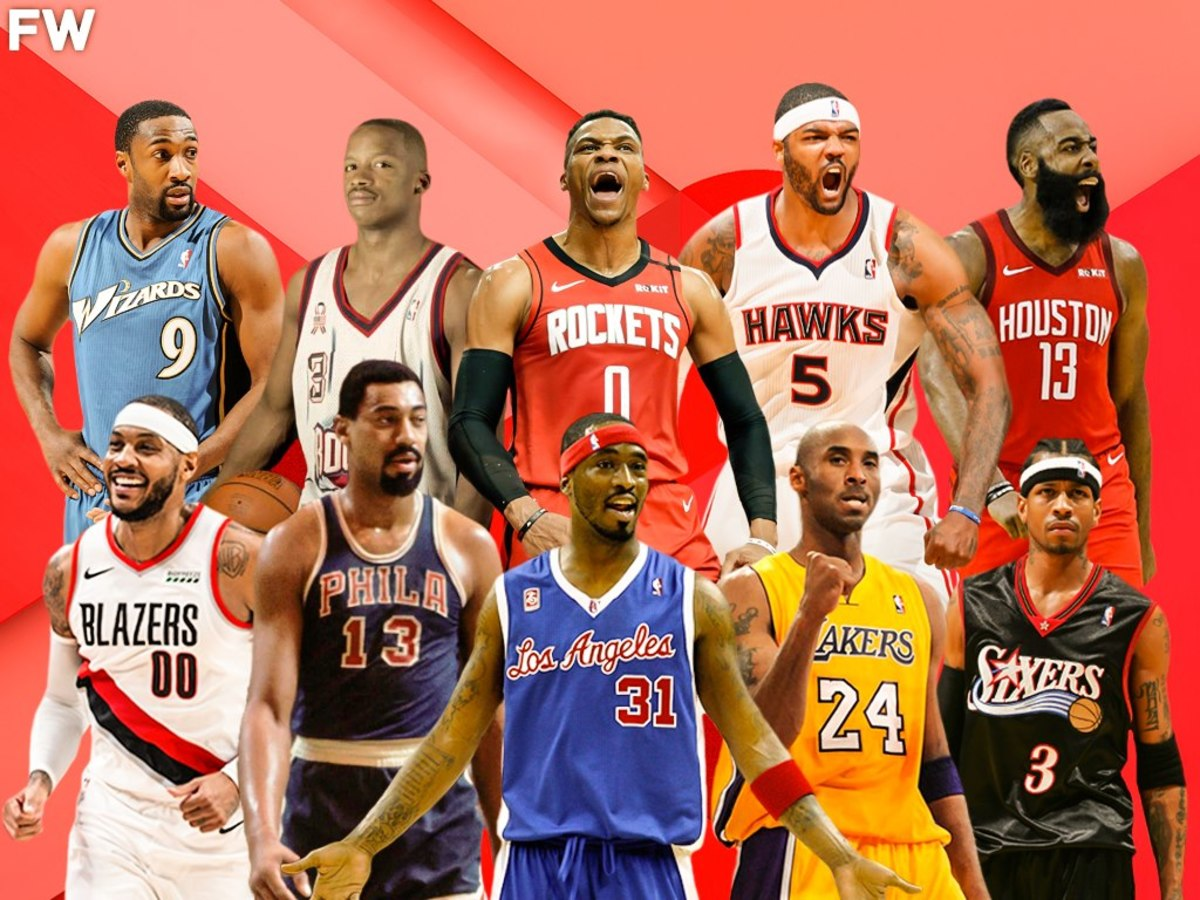 Ranking The Top 10 Most Selfish Players In NBA History
