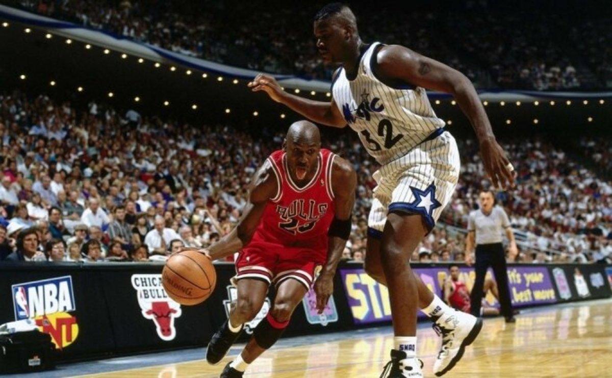 Shaq O'Neal vs. Michael Jordan