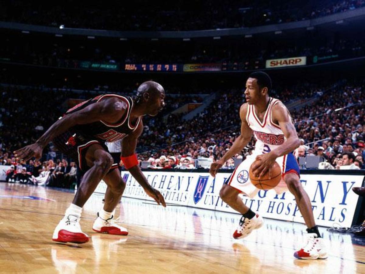 Allen Iverson vs. Michael Jordan