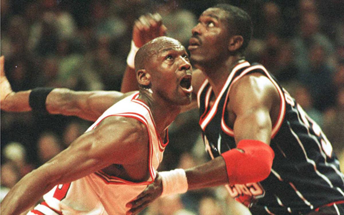 Hakeem Olajuwon vs. Michael Jordan