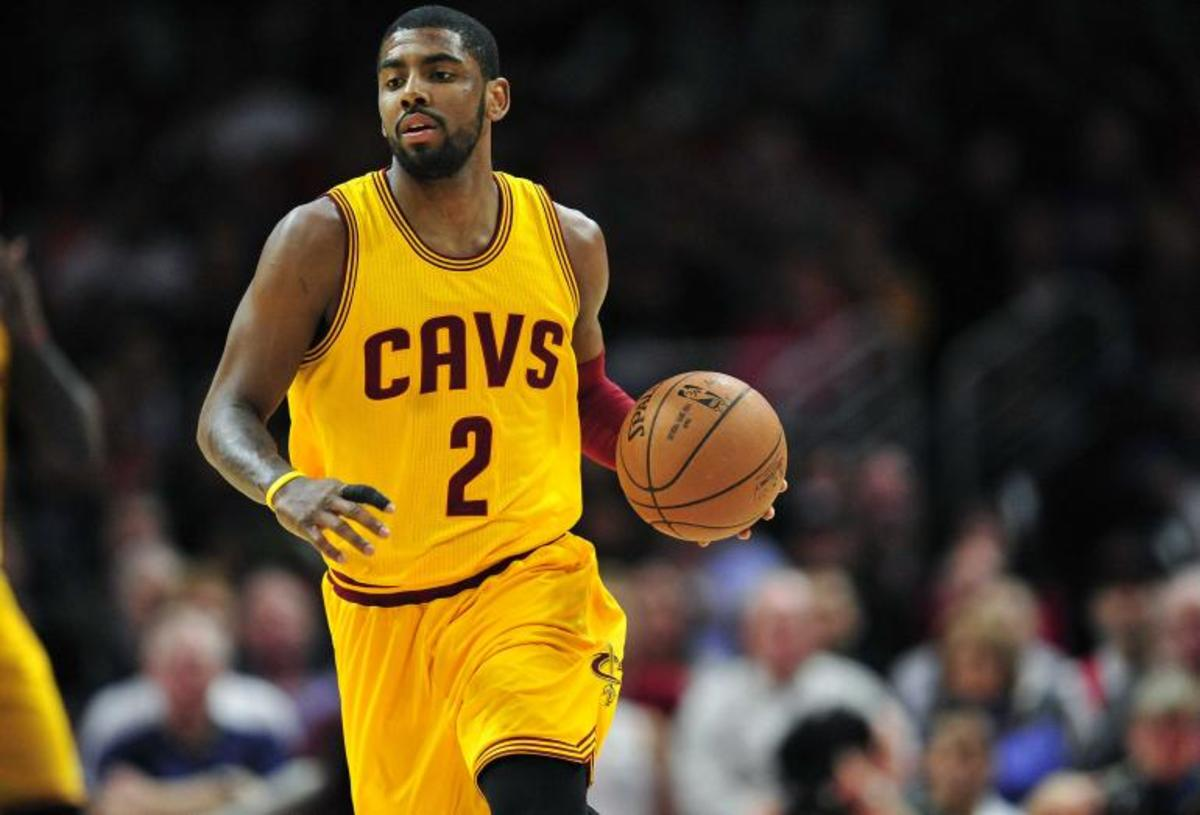 In 2013, Kyrie Irving Told A Room Full Of Kids That He Wouldn't Leave Cleveland Like LeBron James Did