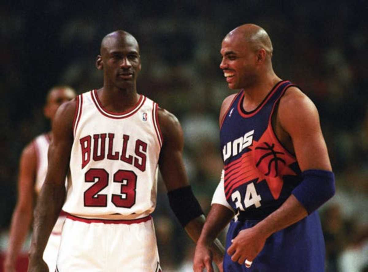 Charles Barkley vs. Michael Jordan