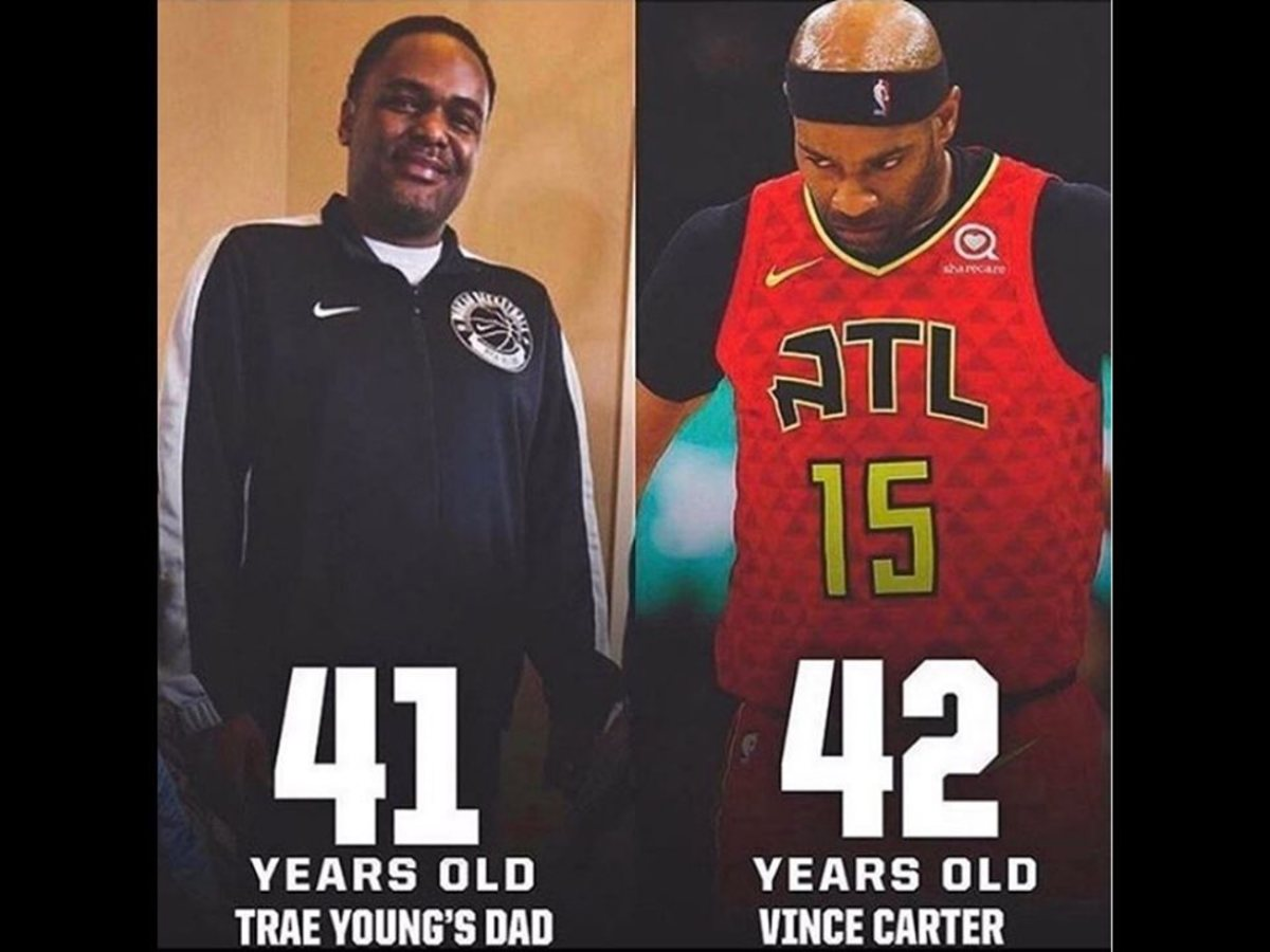 Vince Carter Is Older Than Trae Young's Dad