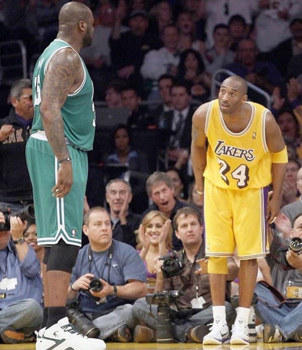 Kobe Bryant vs. Shaq O'Neal