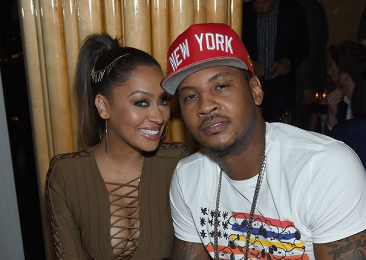Breaking: Carmelo and La La Anthony separated after 7 years