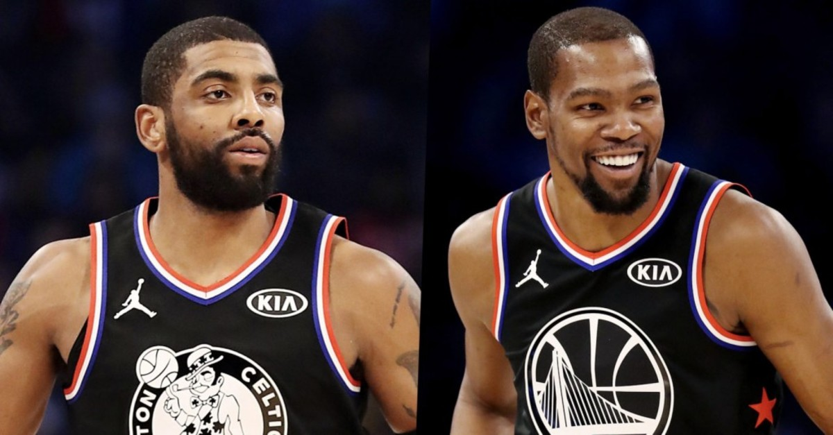 Isiah Thomas Doesn't Think Kyrie Irving, Kevin Durant Should Play Together