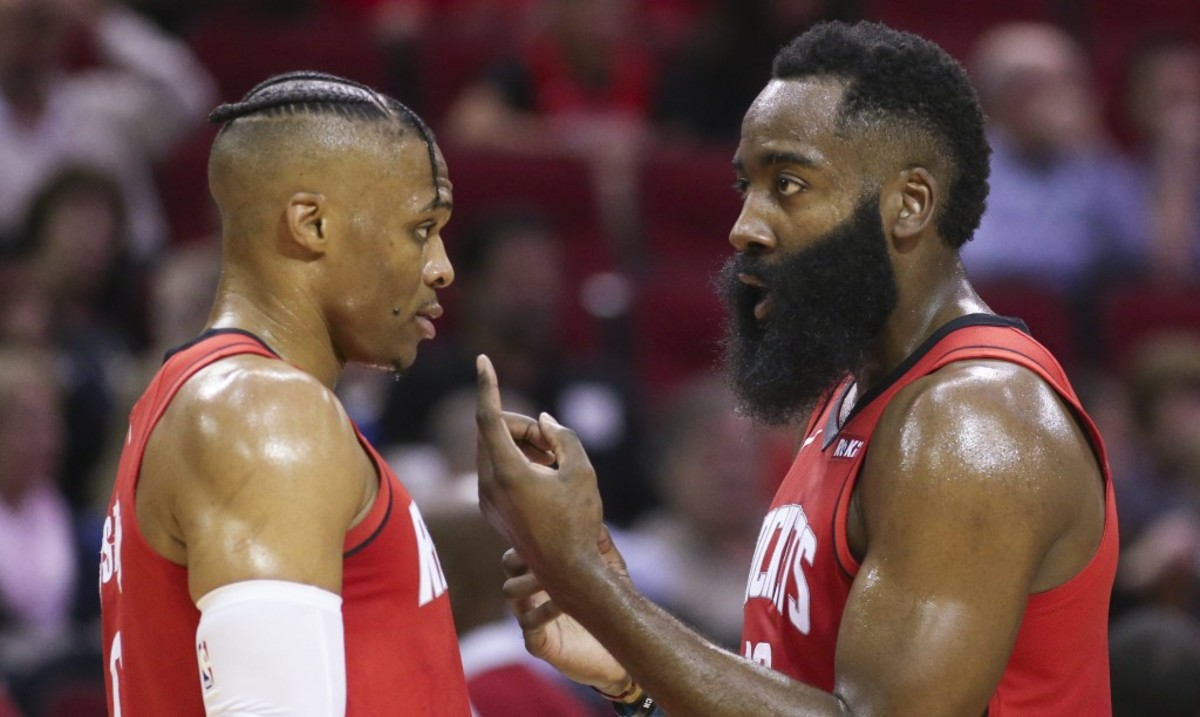 The List Of Houston Rockets Problems: Russ And Harden Had Several Tense Verbal Exchanges, PJ Tucker And Eric Gordon Are Unhappy With Their Roles