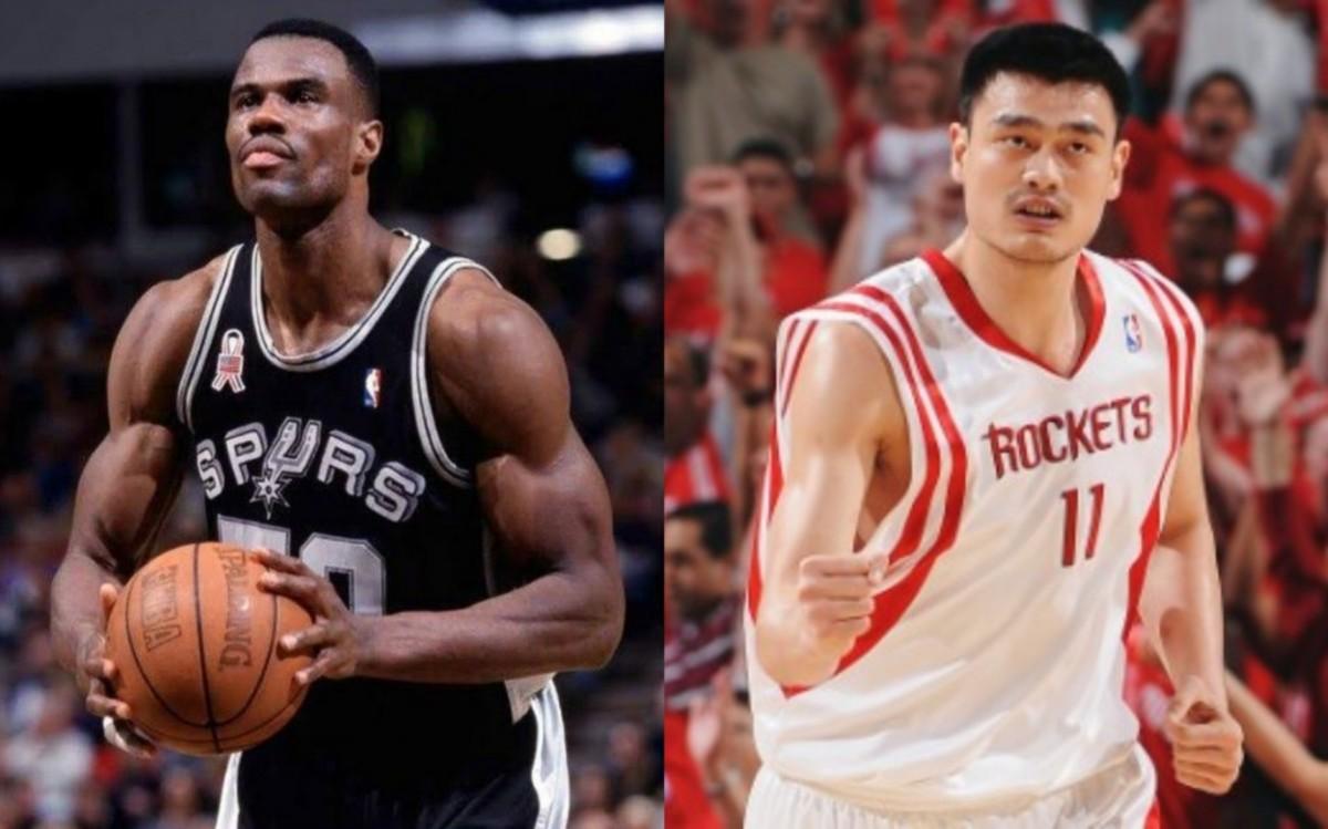 David Robinson vs. Yao Ming