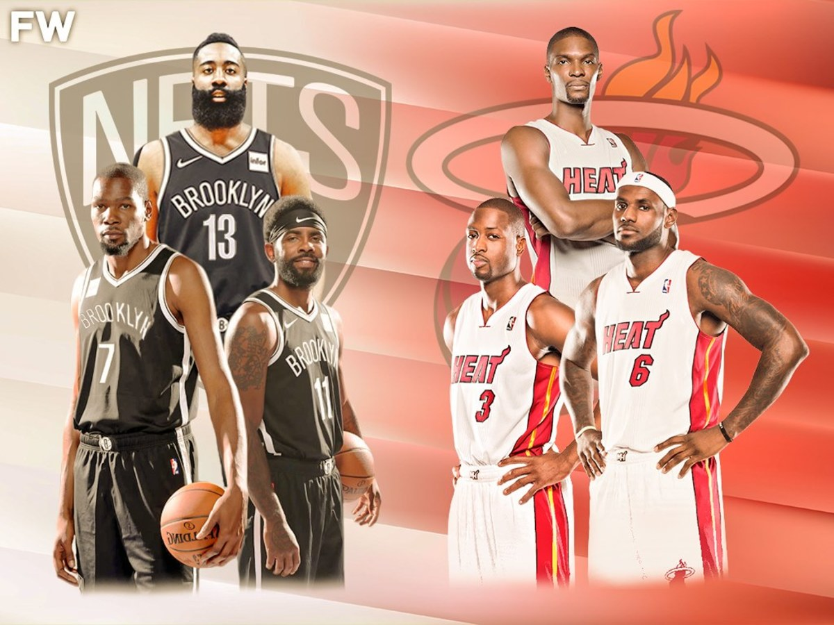 The Ultimate Comparison: Are The Nets Big 3 Better Than The Heat Big 3?