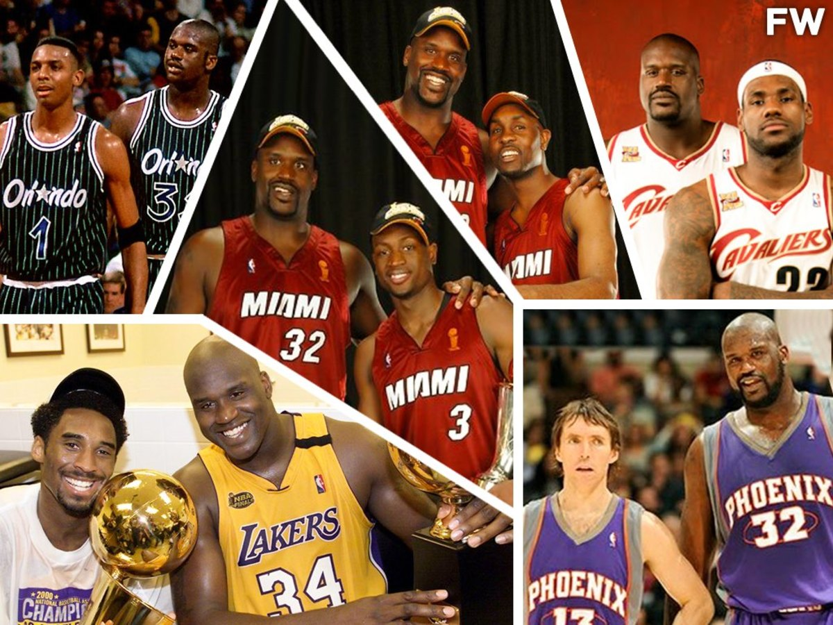 Shaq O'Neal Posts Photos Of Best Guards That He Played With: 'This Is What Greatness At The Guard Position Looks Like. I Played With The Best Ever-To Do It.'
