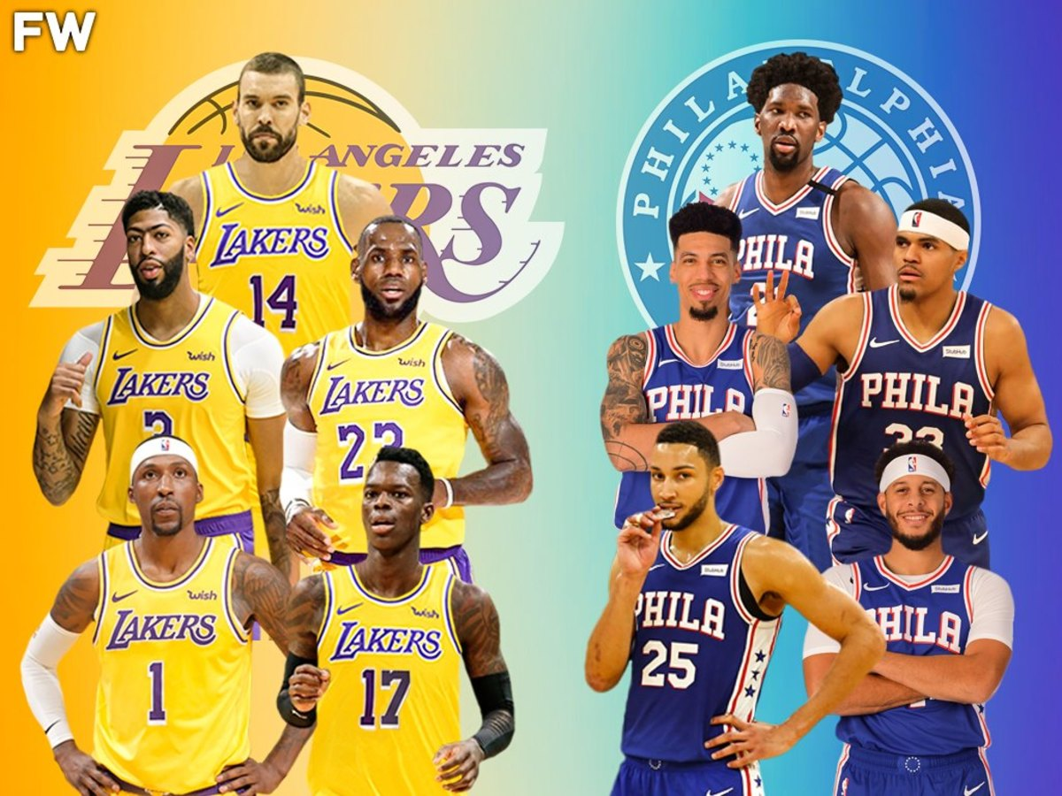 The Full Comparison: 2020-21 Los Angeles Lakers vs. 2020-21 Philadelphia 76ers