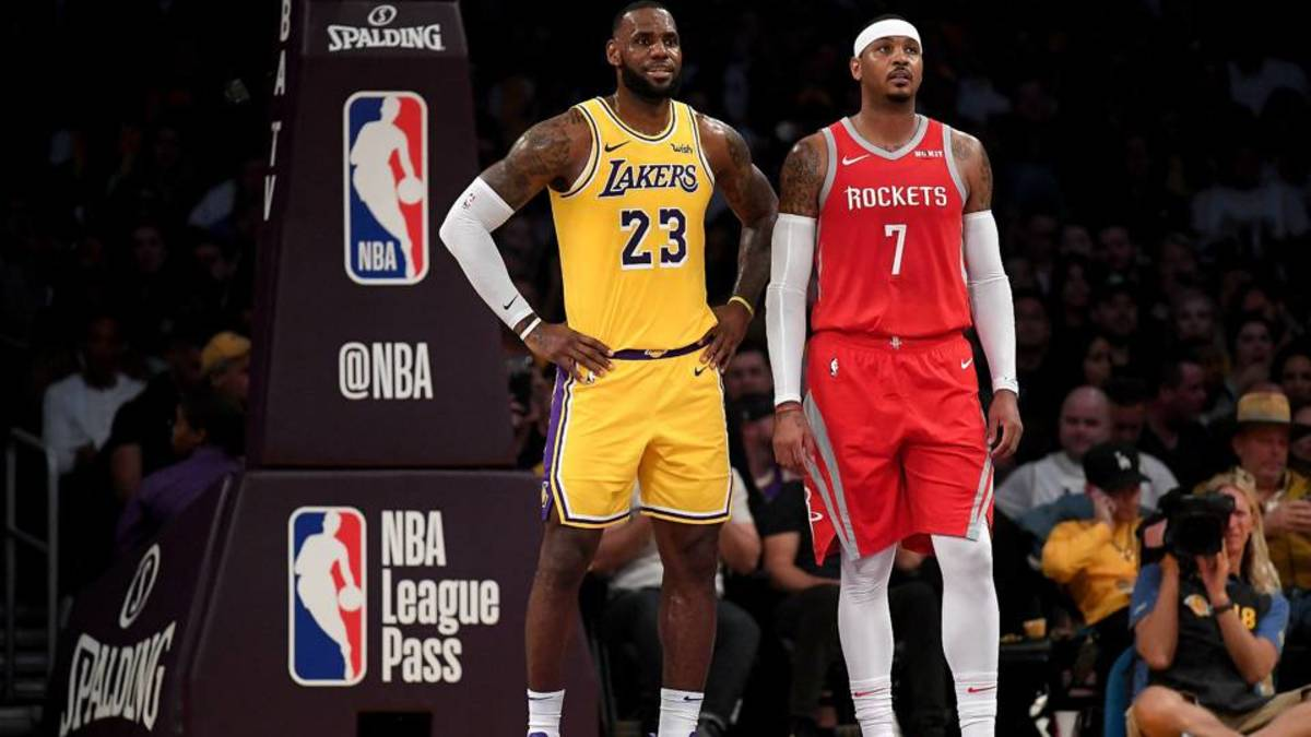 NBA Rumors: Lakers Could Sign Carmelo Anthony If Roster Spot Opens