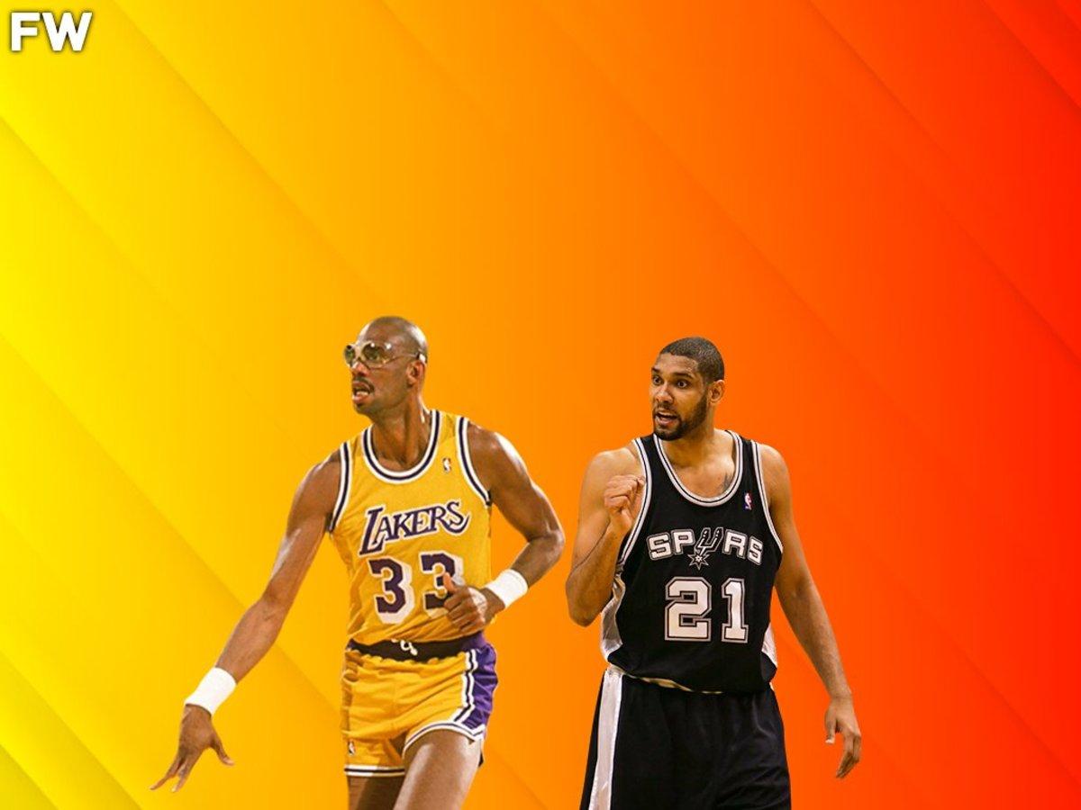 Kareem Abdul-Jabbar vs. Tim Duncan