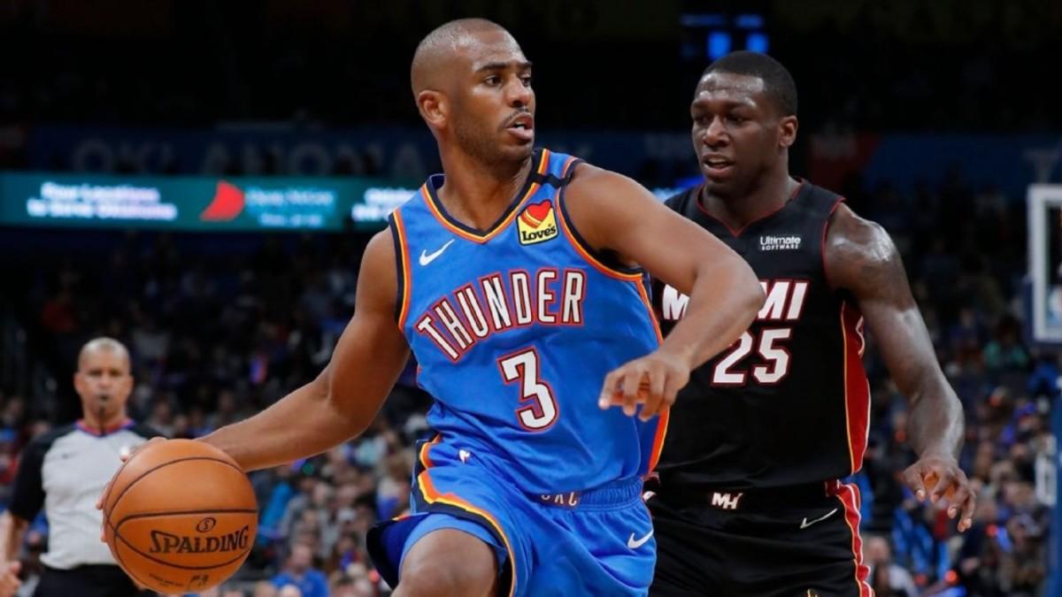 (8) Miami Heat vs. (9) Oklahoma City Thunder