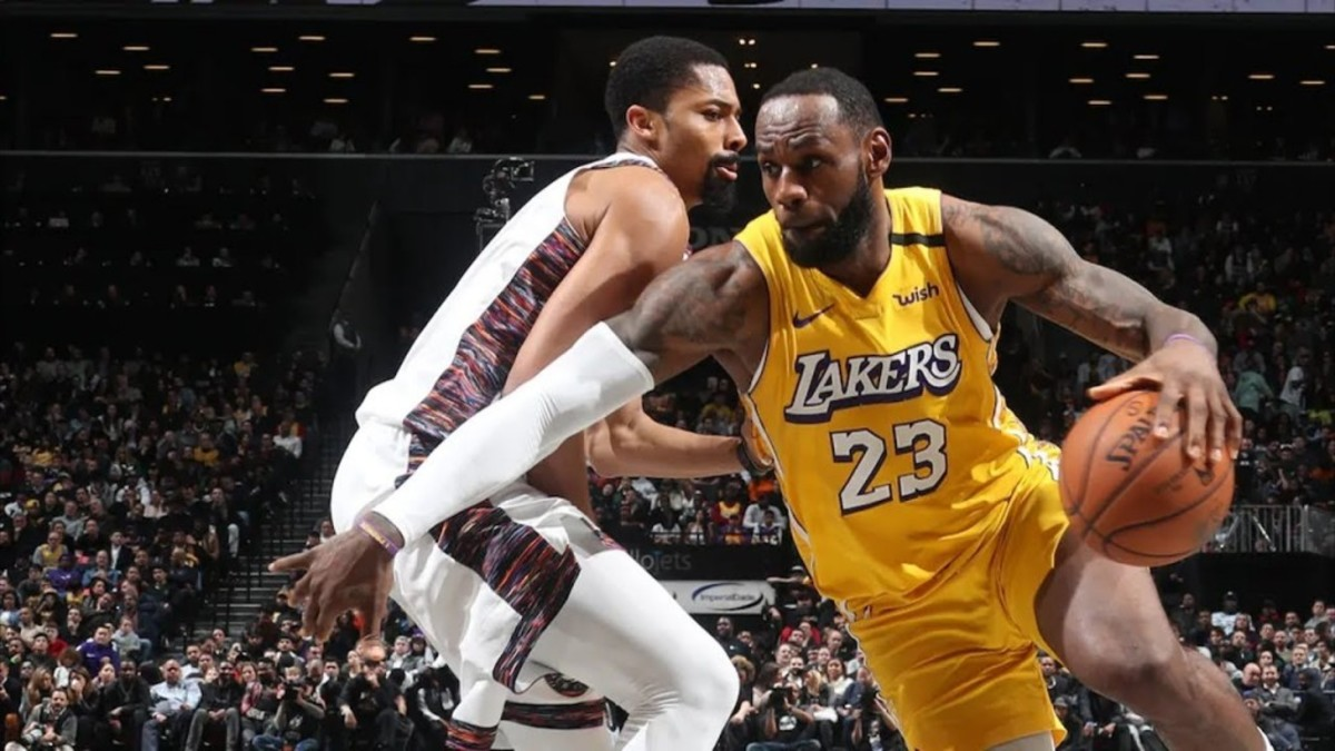 (2) Los Angeles Lakers vs. (15) Brooklyn Nets