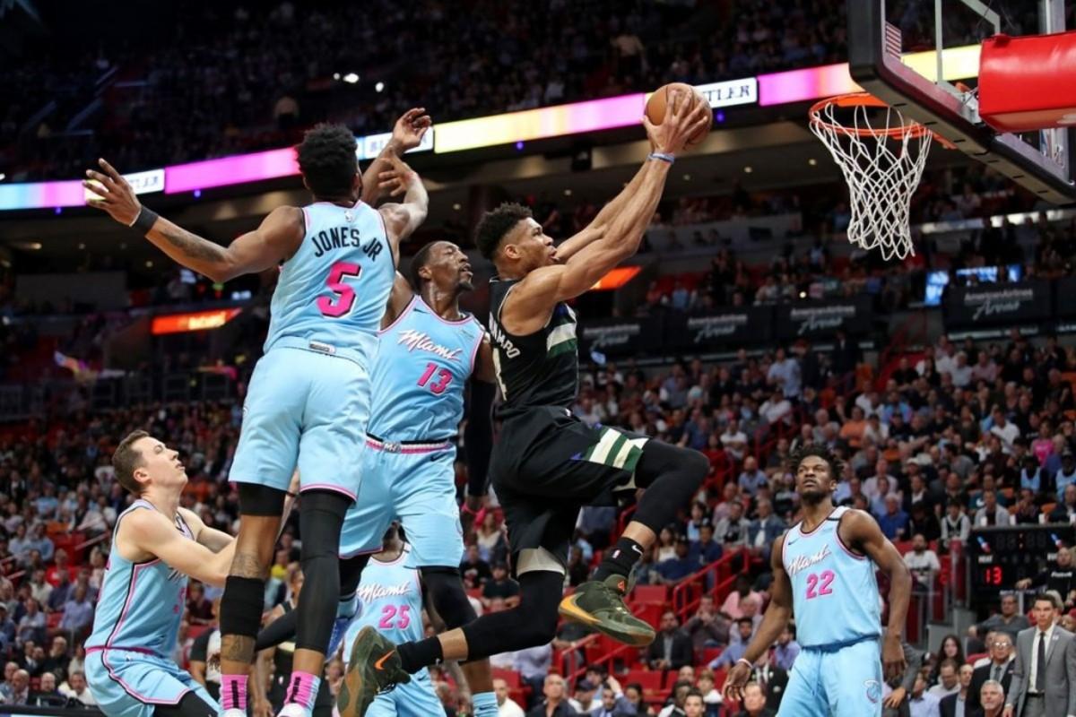 (1) Milwaukee Bucks vs. (8) Miami Heat