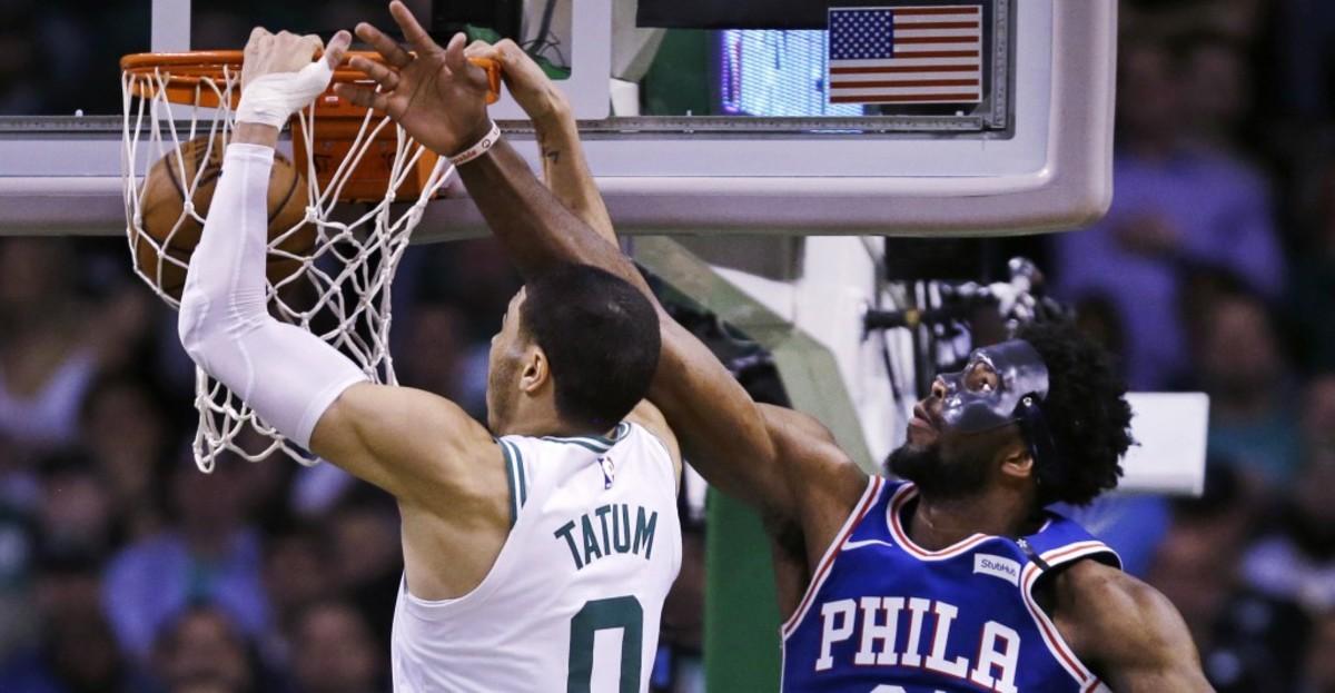 (5) Boston Celtics vs. (12) Philadelphia Sixers