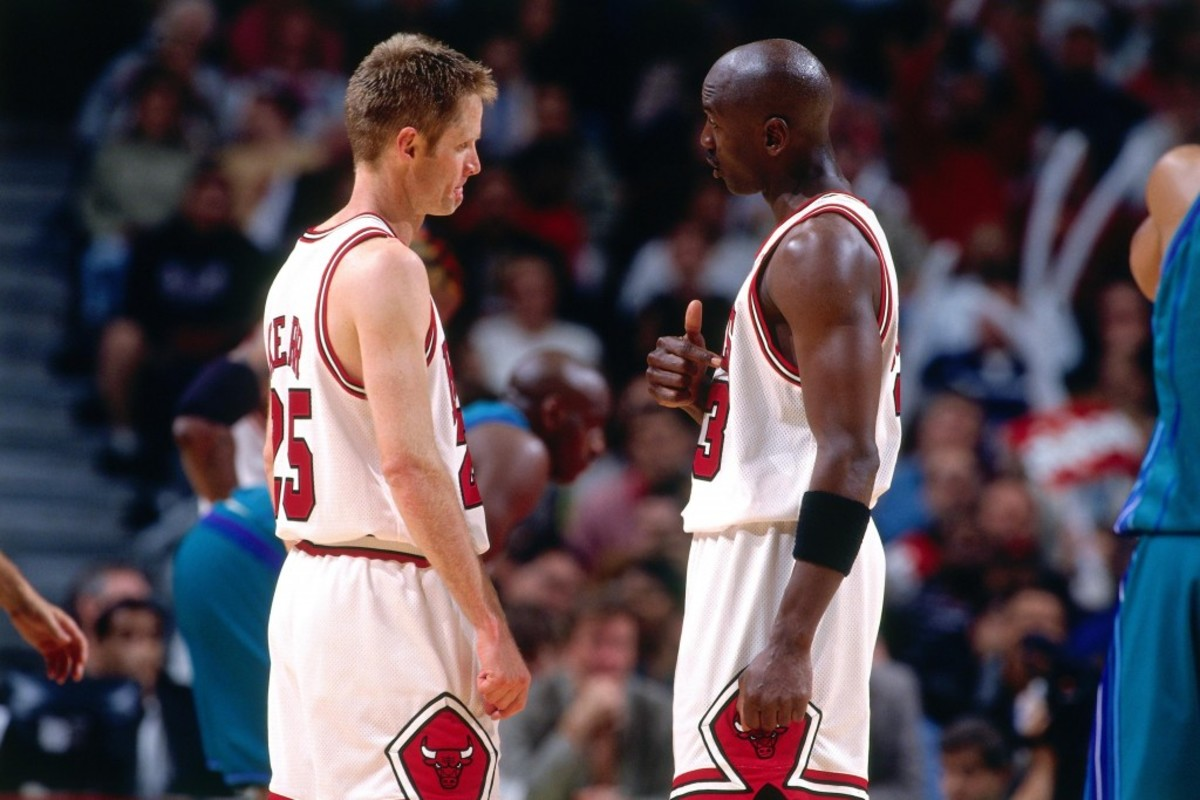 Michael Jordan And Steve Kerr Reveal Details About Their Infamous Fight