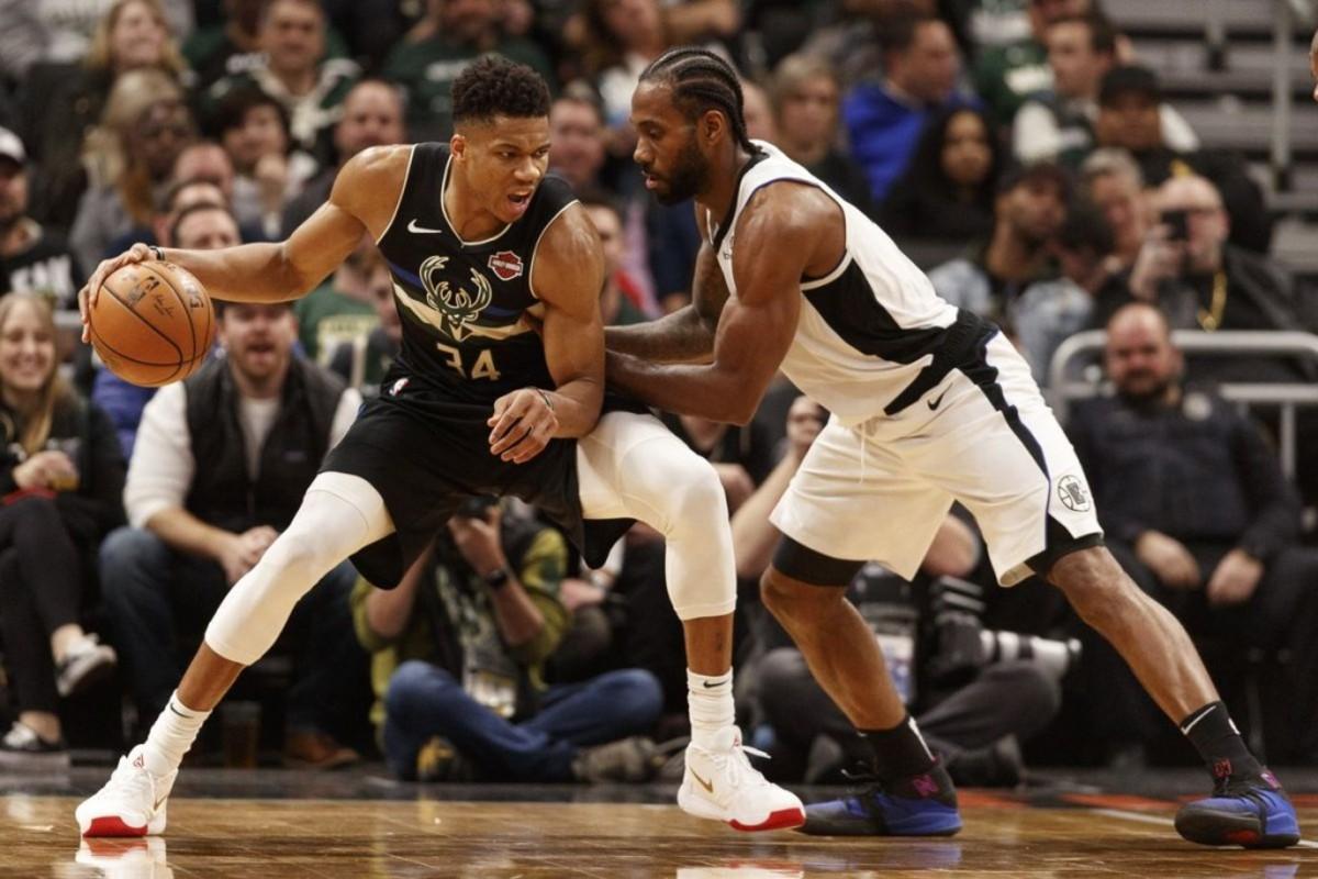(1) Milwaukee Bucks vs. (4) Los Angeles Clippers
