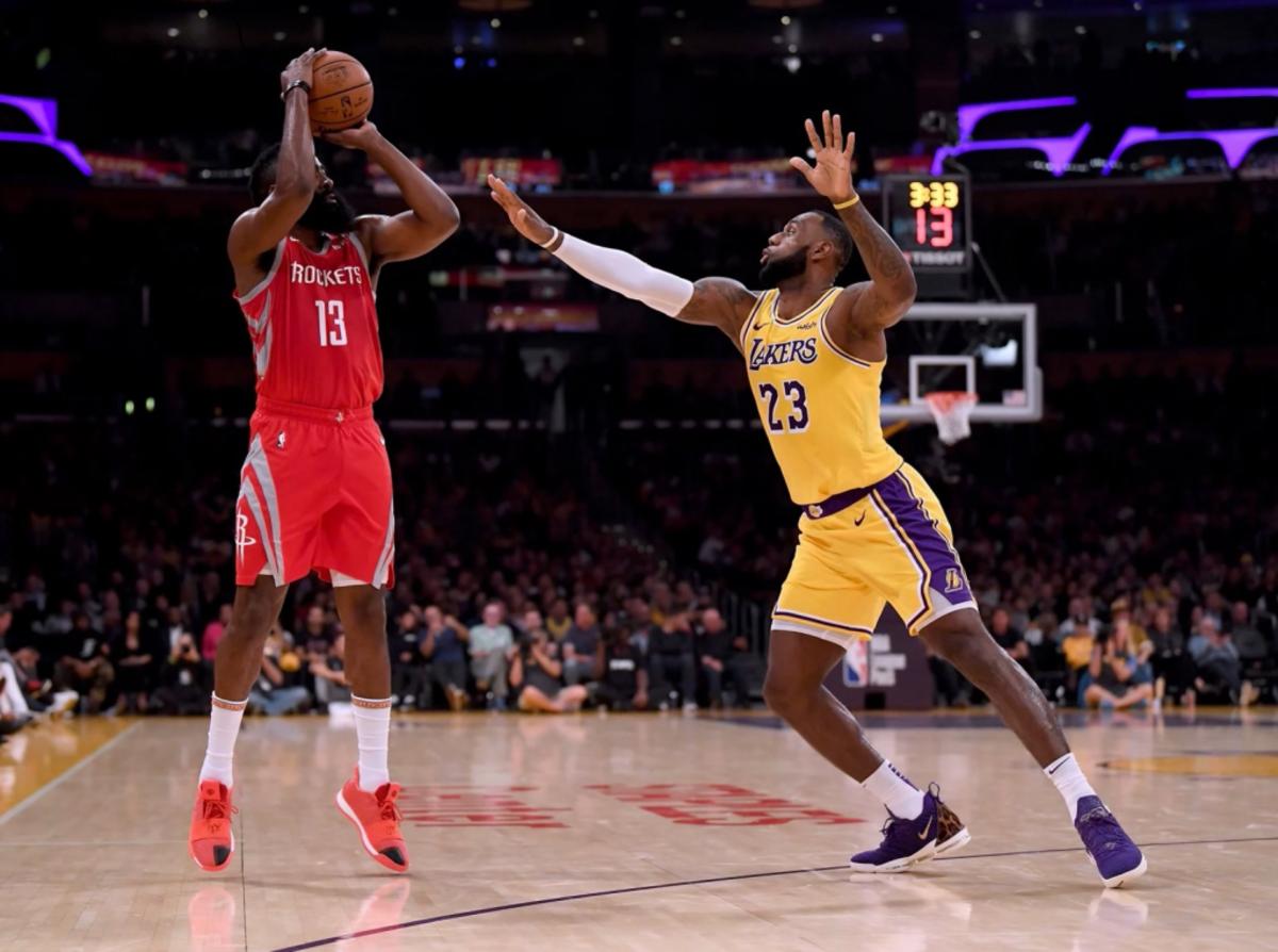 (2) Los Angeles Lakers vs. (10) Houston Rockets