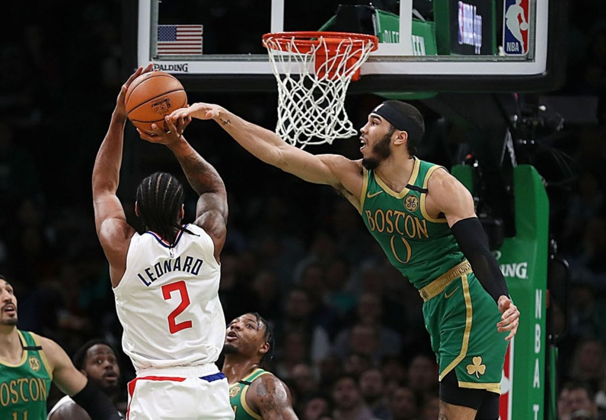 (4) Los Angeles Clippers vs. (5) Boston Celtics