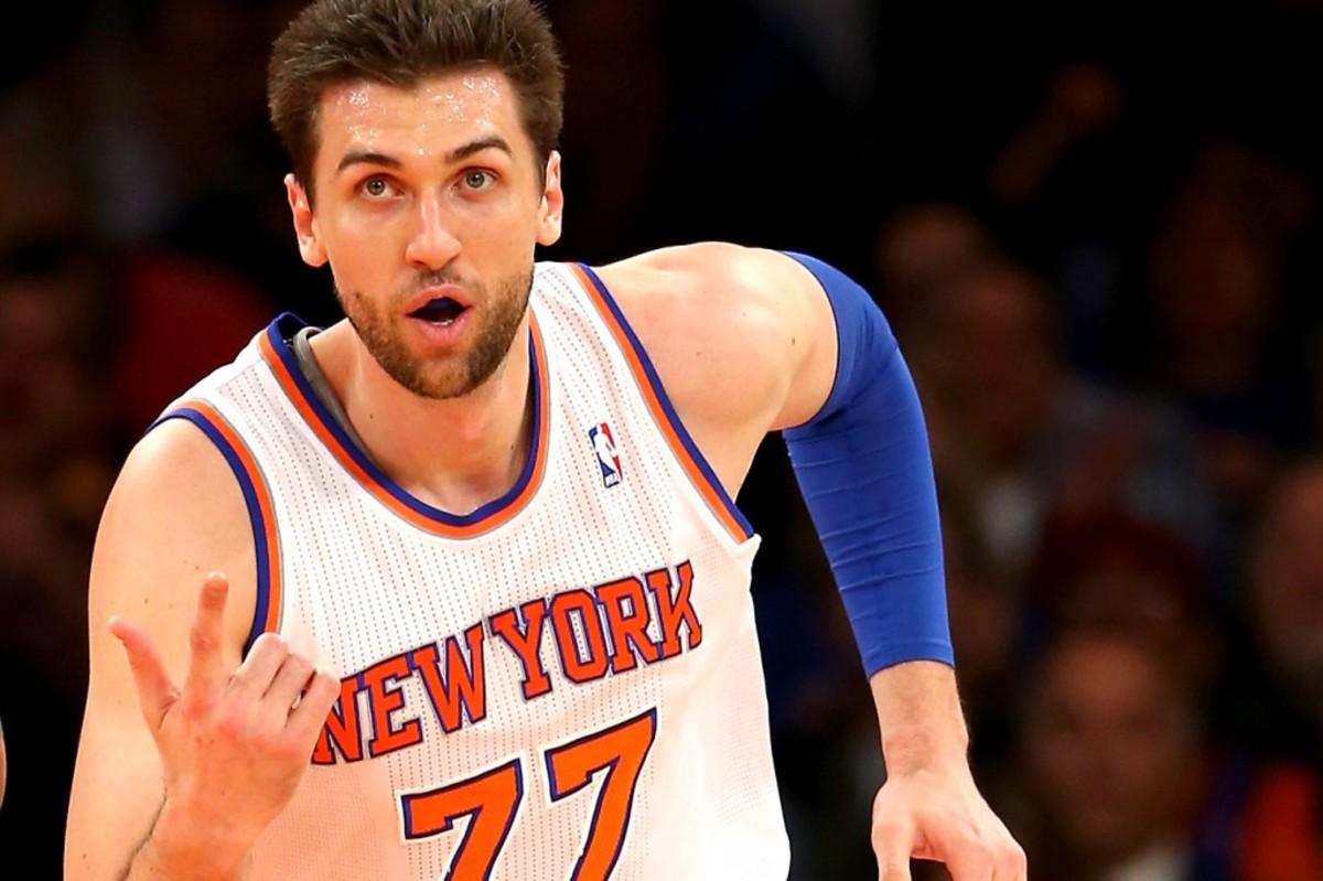 Andrea Bargnani Knicks