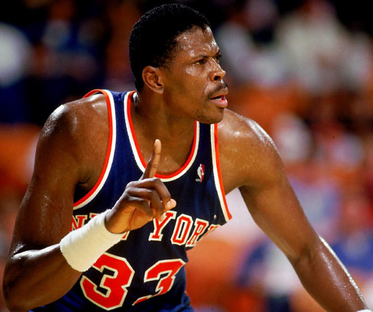 Patrick Ewing Knicks