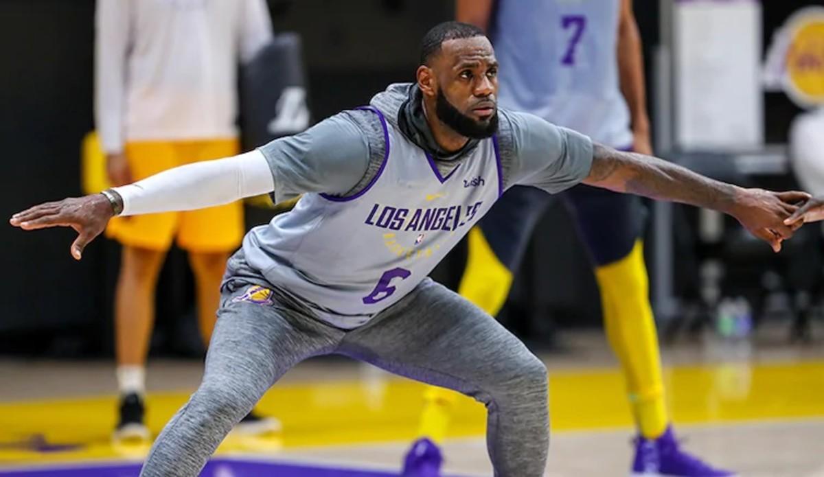 Credit: Los Angeles Lakers