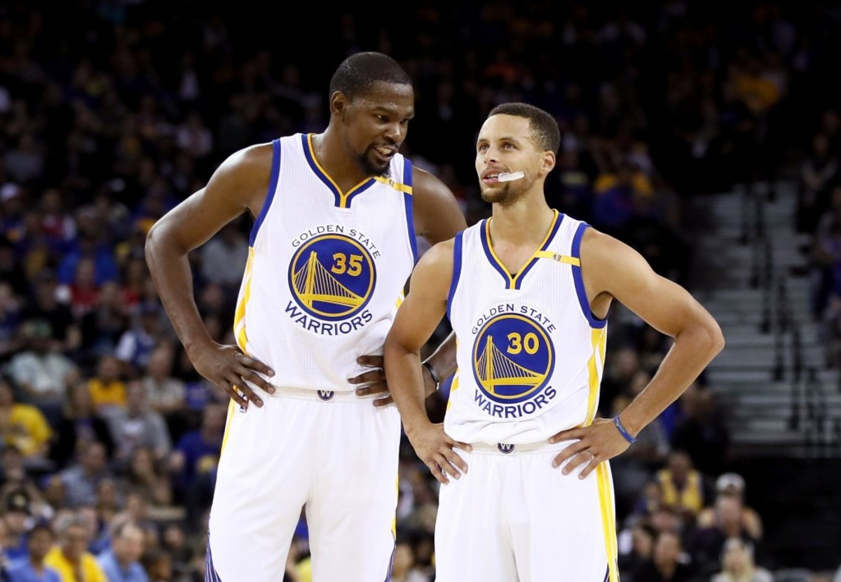 kevin-durant stephen curry