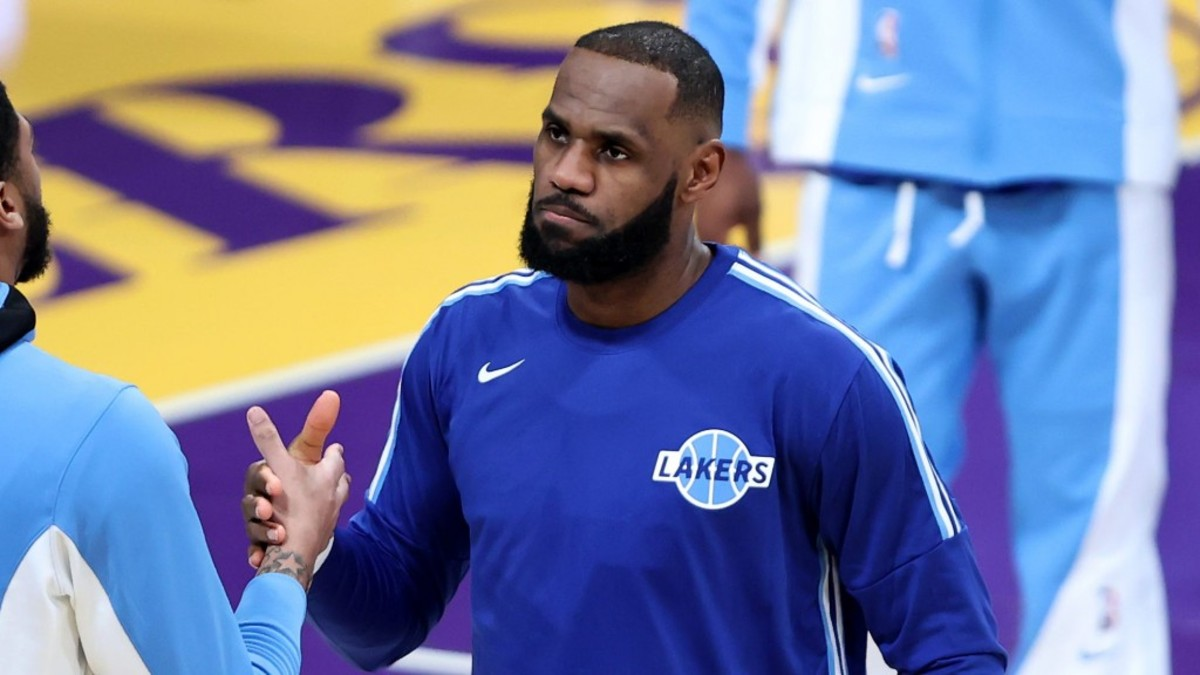 """LeBron James On Capitol Riots: """"We Live In Two Americas... And That Was A Prime Example Of That Yesterday"""""""