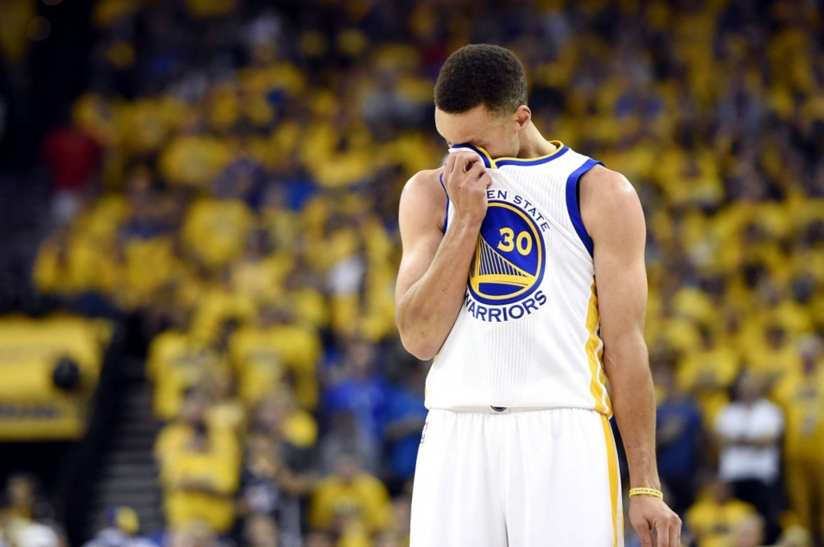 Is Stephen Curry a choker?