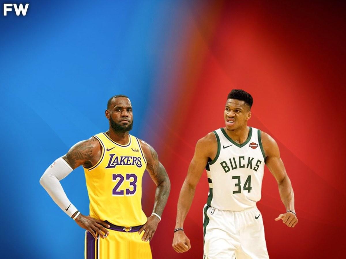 LeBron James vs. Giannis Antetokounmpo