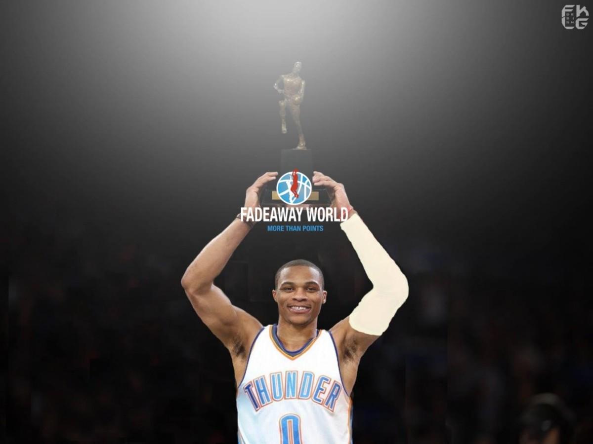 Breaking: Russell Westbrook Is Named The 2017 NBA MVP