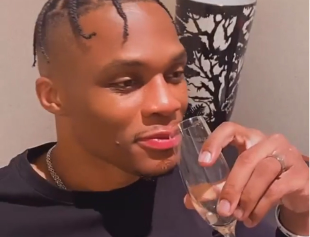 Russell Westbrook's Wife Posts Video Of Her Husband After He Requested A Trade From Houston