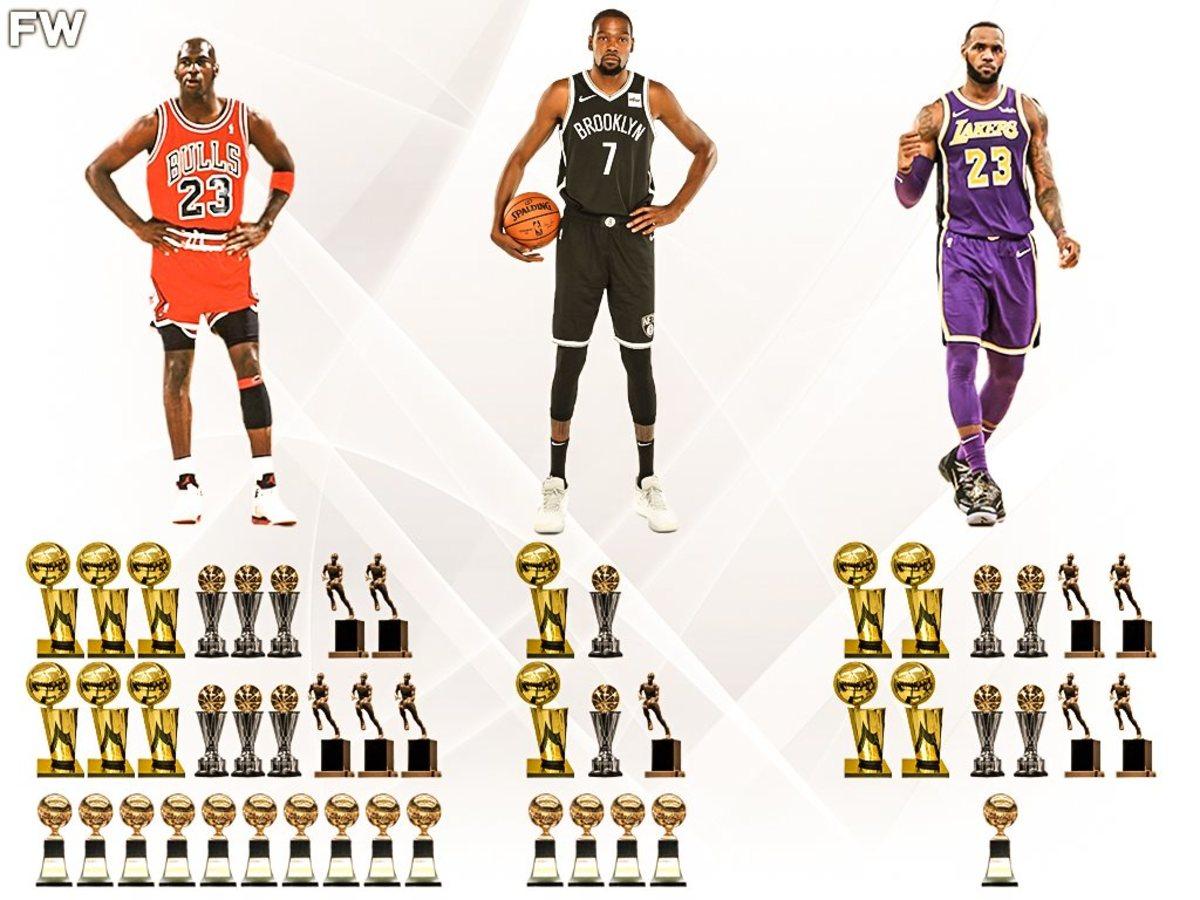 LeBron James vs. Michael Jordan: Kevin Durant's Entire Career Still Separates Them