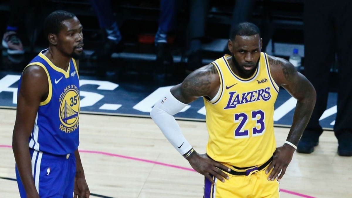 Stephen A. Smith Says Kevin Durant Joining LeBron At Lakers Would Be The Worst Move
