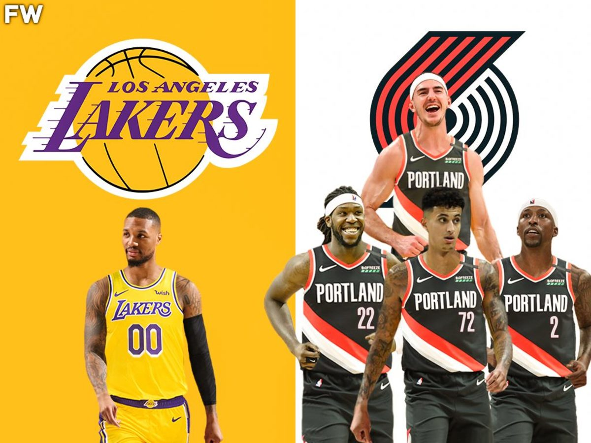 Los Angeles Lakers Could Land Damian Lillard For A Monster Package This Summer