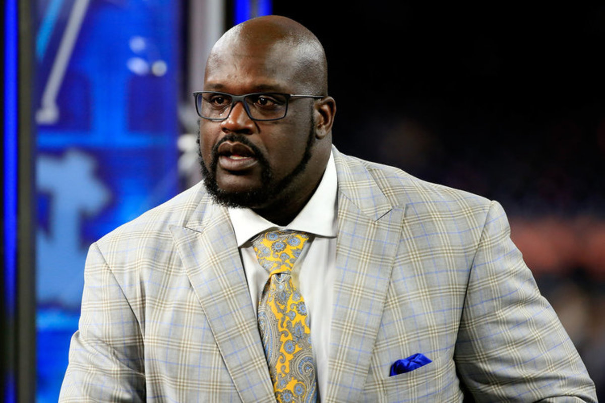 Shaq O'Neal Loses His Mind After Ryan Hollins Says MJ, Kobe Couldn't Fill LeBron's Shoes-750-500