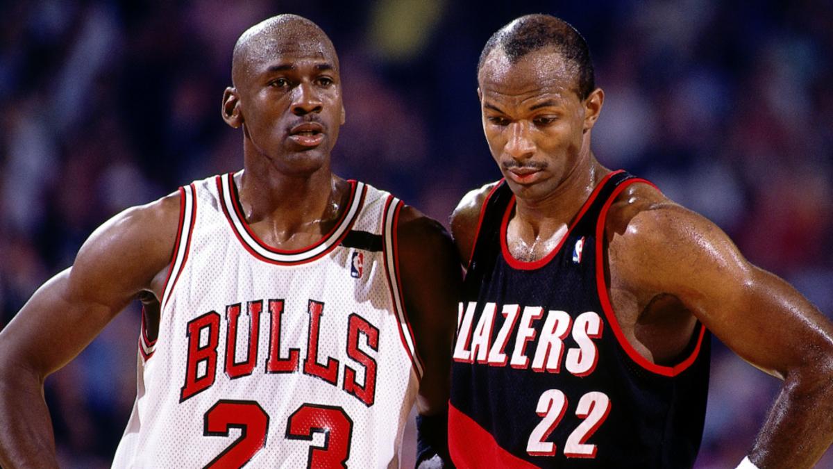 Clyde Drexler Michael Jordan