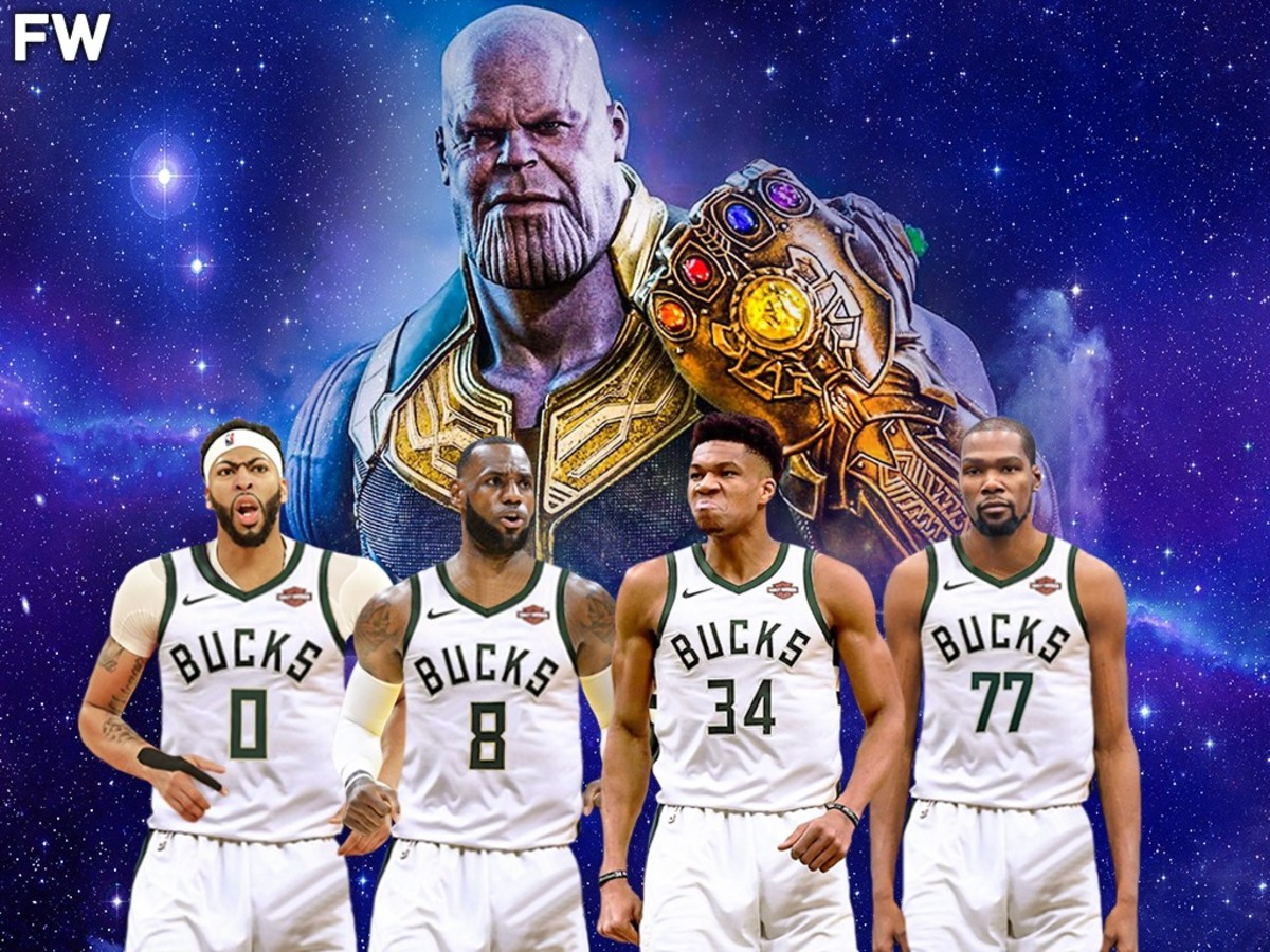 The Most Powerful, Impossible And Unbeatable NBA Team With 4 Superstars: Endgame