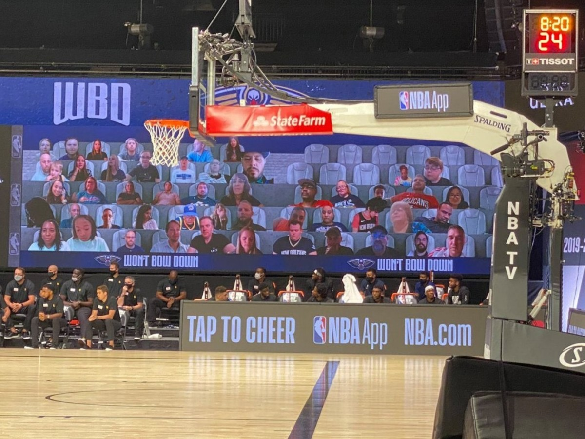 New Orleans Pelicans Can't Even Find Enough Virtual Fans To Fill Their Seats