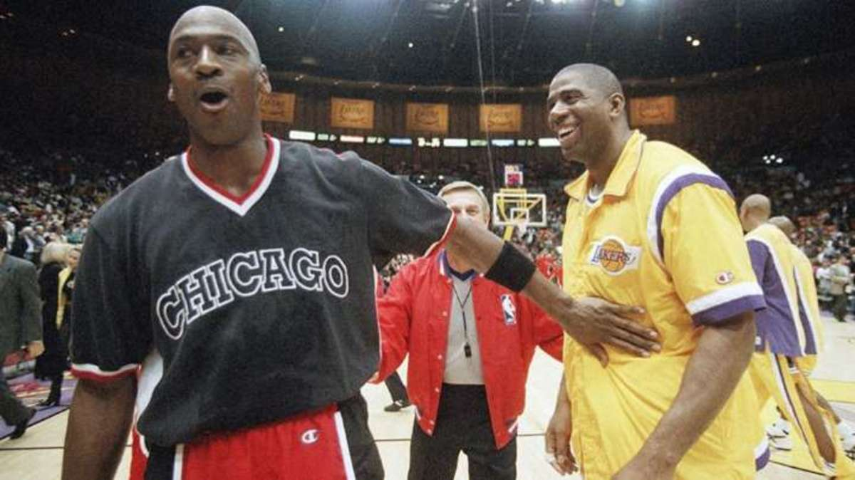 Magic Johnson: 'Young Fans That Never Got To See Michael Play Now Understand Why He's The Goat Of Basketball!'