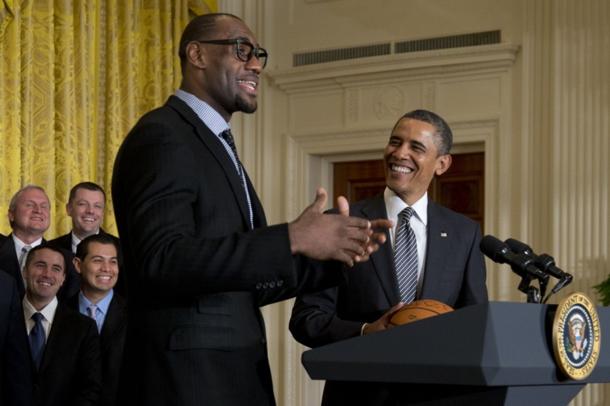 """LeBron James: """"President Obama Is A Great Man. I Wish He Was Still President Of The United States."""""""