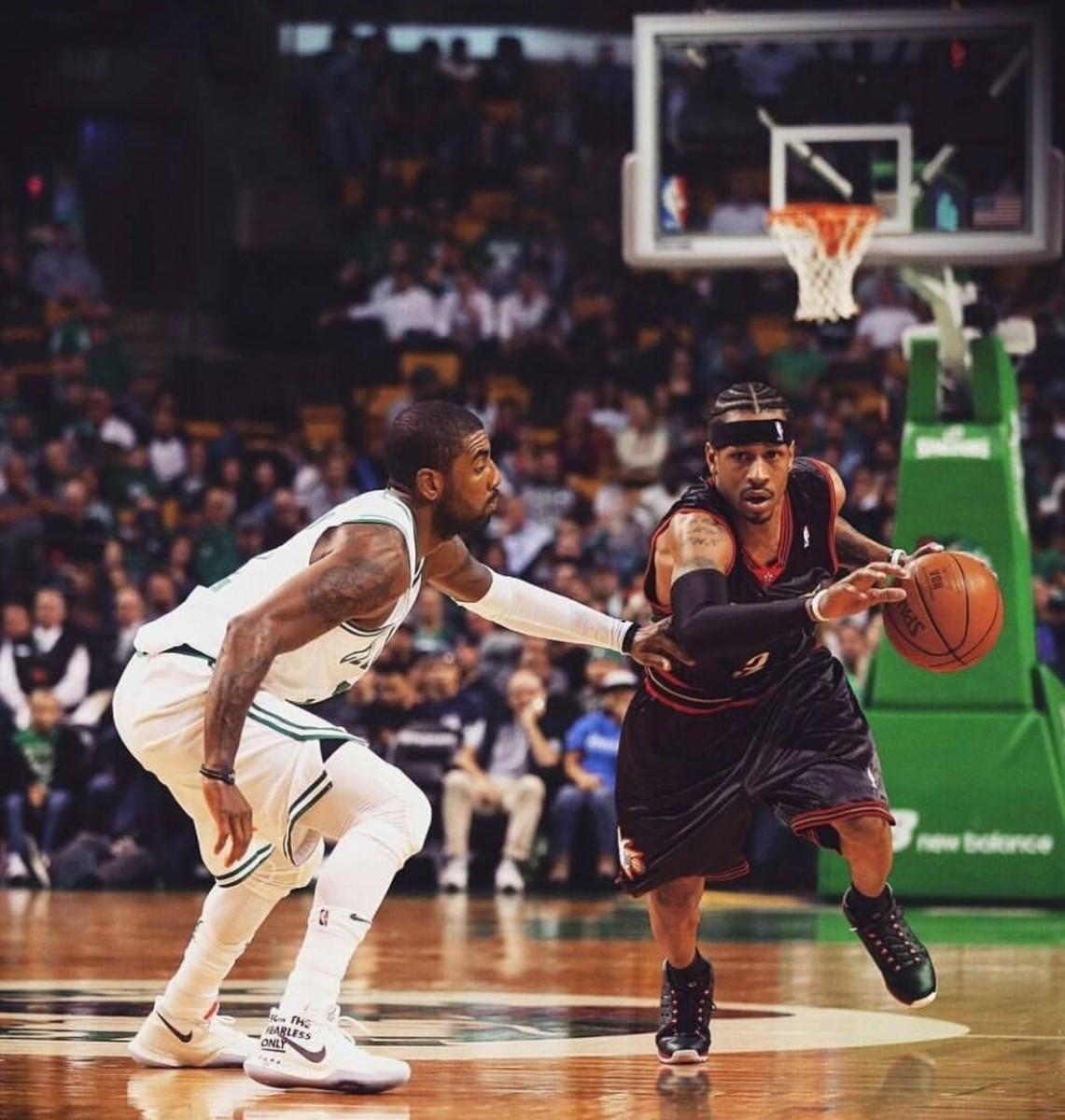 Allen Iverson vs. Kyrie Irving