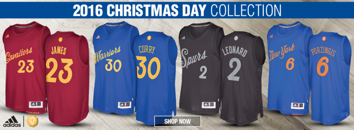 Nba Christmas Jerseys.New Nba Christmas Day Uniforms Leaked Fadeaway World
